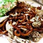 助平屋 - 黒焼きそばの麺アップですw