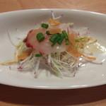 和華 - ランチ 前菜 イサキのカルパッチョ