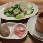 和華 - ランチ 海鮮炒めのセット