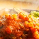 牛肉100%で無添加!グリル野菜トマトソース
