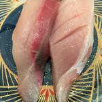 回転寿司 魚河岸 - ハマチ③