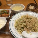 青菜 - 鮭青葱チャーハンセット