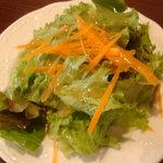 オステリア ベオーネ - セットのサラダ