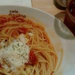 cafe Copana - モッチァレラのトマトスパ