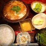 4487467 - 豚ロースカツ煮定食