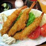 4487620 - スペシャルランチ・手作り大!エビフライ定食