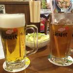 元祖伝串の店 新時代 - 生ビールとドライバーズウーロン茶無料