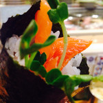 ひまわり寿司 - サーモンカルパッチョ