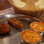 エベレストキッチン インディアンネパーリレストラン - エベレストセット1050円