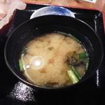 魚旬 - 味噌汁
