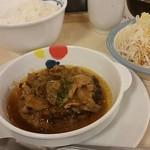 松屋 - シャンピニオンソースハンバーグ定食650円
