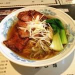 楊々 - 料理写真:排骨麺1000円