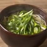 【京都】九条葱の鶏出汁うどん