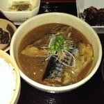 伊豆中ばんばん食堂 - 鯖の味噌煮定食☆880円♪