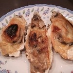 しゃれねずみ - 牡蠣のチーズ焼き、産直牡蠣