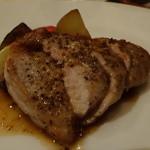 リストランテ イル コンティヌオ - ☆豚さんのメイン料理(^u^)☆