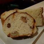 リストランテ イル コンティヌオ - ☆パンはいろいろ種類がありました☆