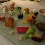 リストランテ イル コンティヌオ - ☆前菜はいろいろ満載です(*^^)v☆