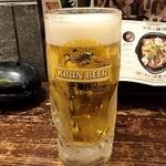 宮崎県日南市 塚田農場 - ビール飲みたい~! 久々の塚田農場、一番搾りで乾杯♪(〃゜▽゜)ノ□☆□ヽ(゜▽゜*)♪