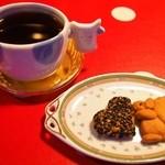 ミルク村 - Aセット ダルジャン(コーヒー&クッキー)