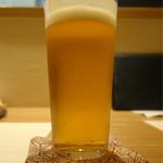 莉玖 - 生ビール