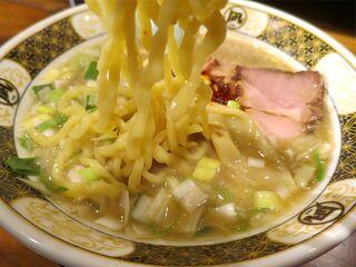すごい煮干ラーメン凪 渋谷東口店 - すごい煮干ラーメン塩の麺