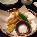 あじと - 島らっきょうの天ぷら