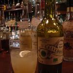 ローハイド - りんごジュースとカルバドスのカクテル¥800