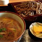 松よし - 鴨汁つけ蕎麦