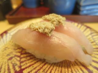 ことぶき寿司 亀田店 - かわはぎ(新潟産)