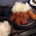 まんぶう - ランチ定食 648円