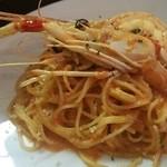 イタリアンキッチン・シエロ - 手長海老のトマトクリームソース +550円