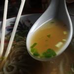 河崎屋 - スープはこんな感じ