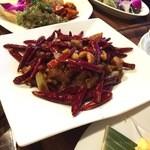 44891073 - ルームサービス:辣子鶏丁(鶏肉と唐辛子のピリ辛炒め)