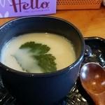 まる貝 - 茶碗蒸し