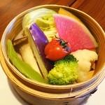 ゴールデン タイガー - 野菜の蒸籠蒸し❤ヾ(´∀`ヾ) 日替わり定食に付いてきます❤