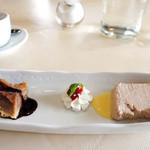 リストランテ ステファノ - デザート2種とエスプレッソ