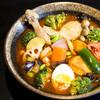 カレー食堂 心 - 料理写真:人気No.1!トリと野菜のスープカレー