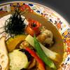 甘味処 あまみや - 料理写真:旬の野菜カレー