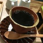 かんみこより NU茶屋町プラス店 - セットドリンクのホットコーヒーが濃くて美味しいぃ♪