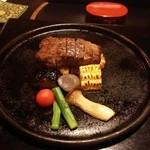 nihonryourioosakakourimbou - ステーキ