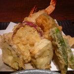 麺匠の心つくし つるとんたん - ☆天ぷらの盛り合わせですぅー♪☆
