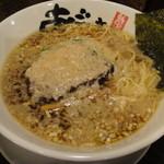 麺屋あごすけ - 醤油背脂麺