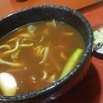 河村屋 - 料理写真:カレーうどん