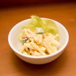 柳亭 - 自家製マカロニサラダ