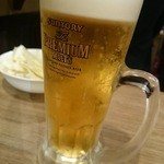 竹乃屋  - 生ビール