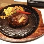 44903896 - 合挽き肉のハンバーグ