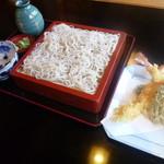蕎傳 - 天せいろ ¥1,480