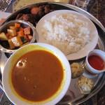 プール パーティー - 料理写真:ネパールセット♪