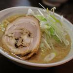 突撃ラーメン - みそラーメン大盛り(太麺)☆